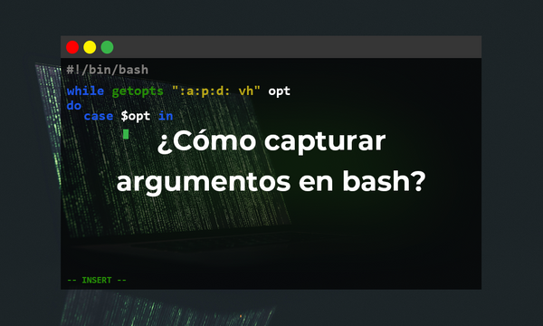 Capturar y validar argumentos(flags) con getopts en bash